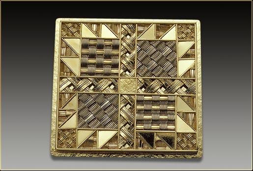 Neceser patchwork precious metal prices